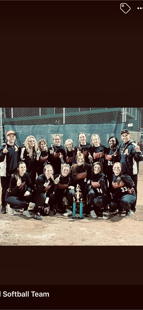 Congratulations Lady Tigers!  First place in the Bearcat Blast Softball Tournament!