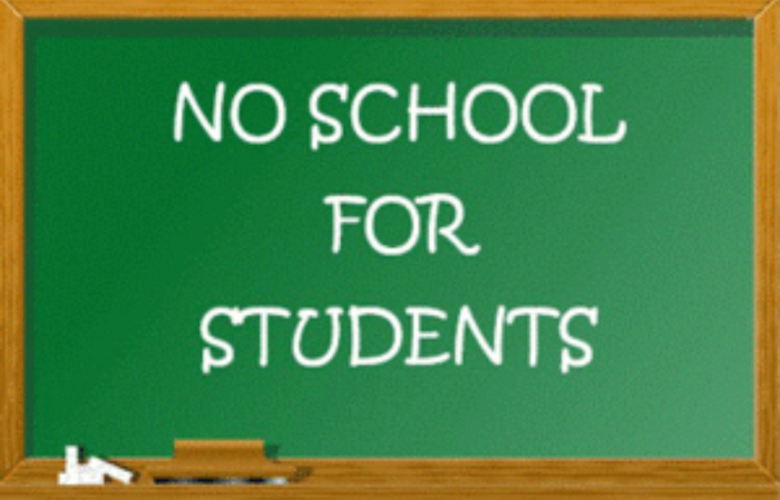 Reminder-No School Friday, Sept. 14