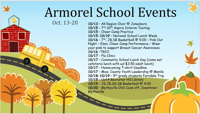 Oct.13-20 Events