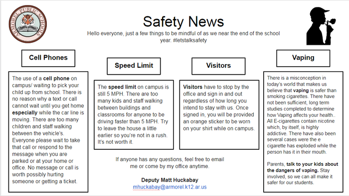 April Safety Newsletter