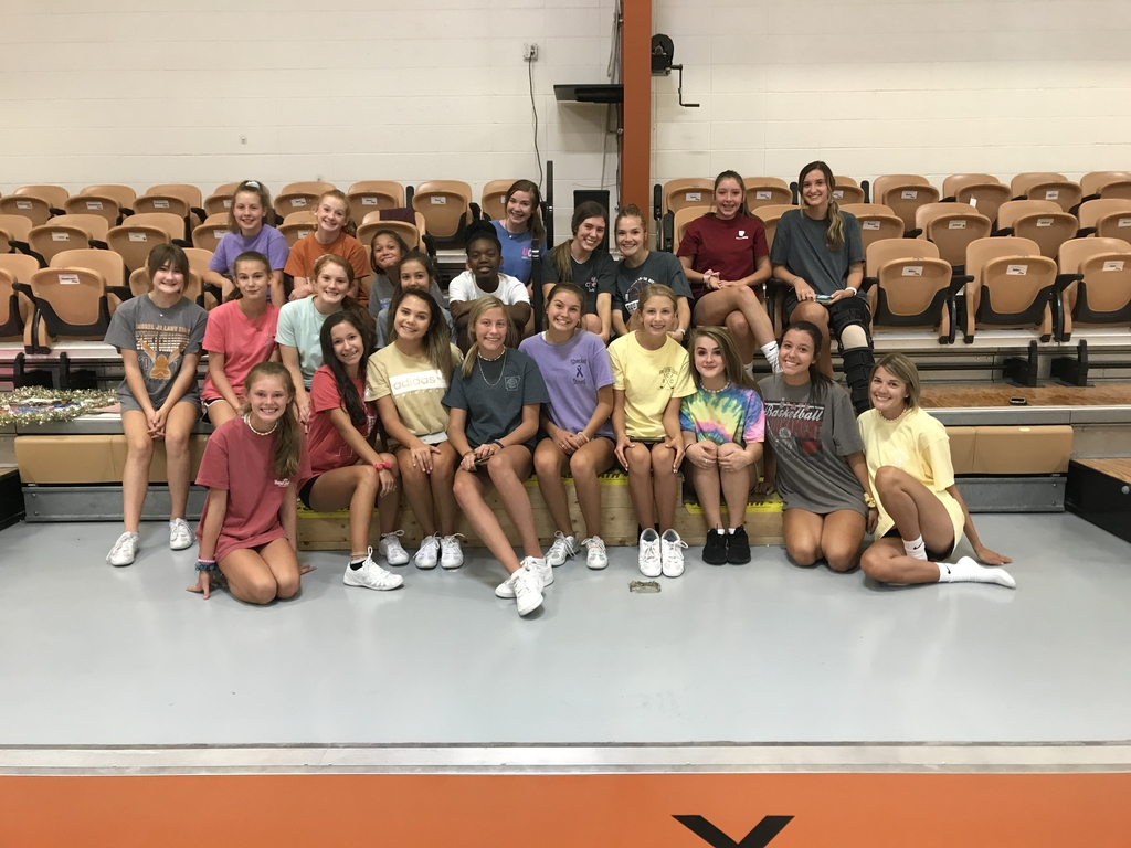 Day 1 of JHS Cheer Camp#gotigers