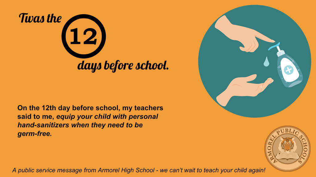 The first day of school is coming soon!